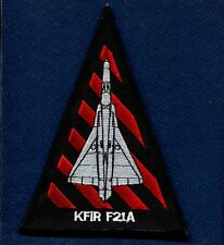 VF-43 CHALLENGERS F-21 KFIR US Navy Aggressor  Fighter Squadron Jacket Patch