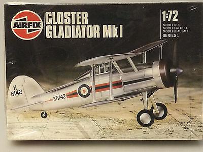 Prl) 1987 Gloster Gladiator Mki Maquette Model 1:72 Aereo Avion Plane Airfix S1