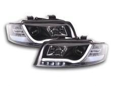 Coppia Fari Fanali Anteriori Tuning Dayline DRL LTI CCFL Audi A4  8E 01-04 ne