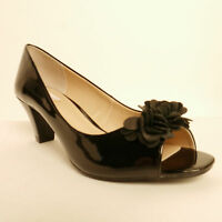 Lotus Saskia Ladies' Peep Toe Court Shoes Rrp £59.99 Bargain £34.99