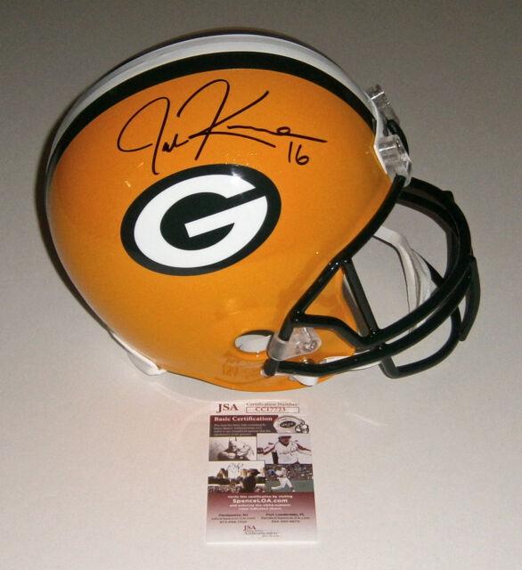 PACKERS Jake Kumerow signed Full Size Rep helmet w/ #16 JSA COA AUTO Autographed