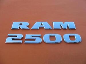 2009-2018 DODGE RAM 0 SIDE DOOR REAR TAIL GATE EMBLEM LOGO BADGE SIGN CHROME OEM