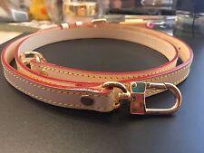 Vachetta Leather Strap  Pochette Accessoire, Eva Clutch, Favorite Mm Pm, Alma