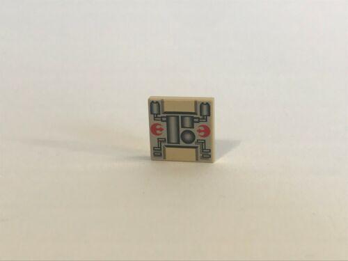 LEGO ® Star Wars 1x Fliese 2x2 beige Mechanical Rebel Tile bedruckt Weltraum
