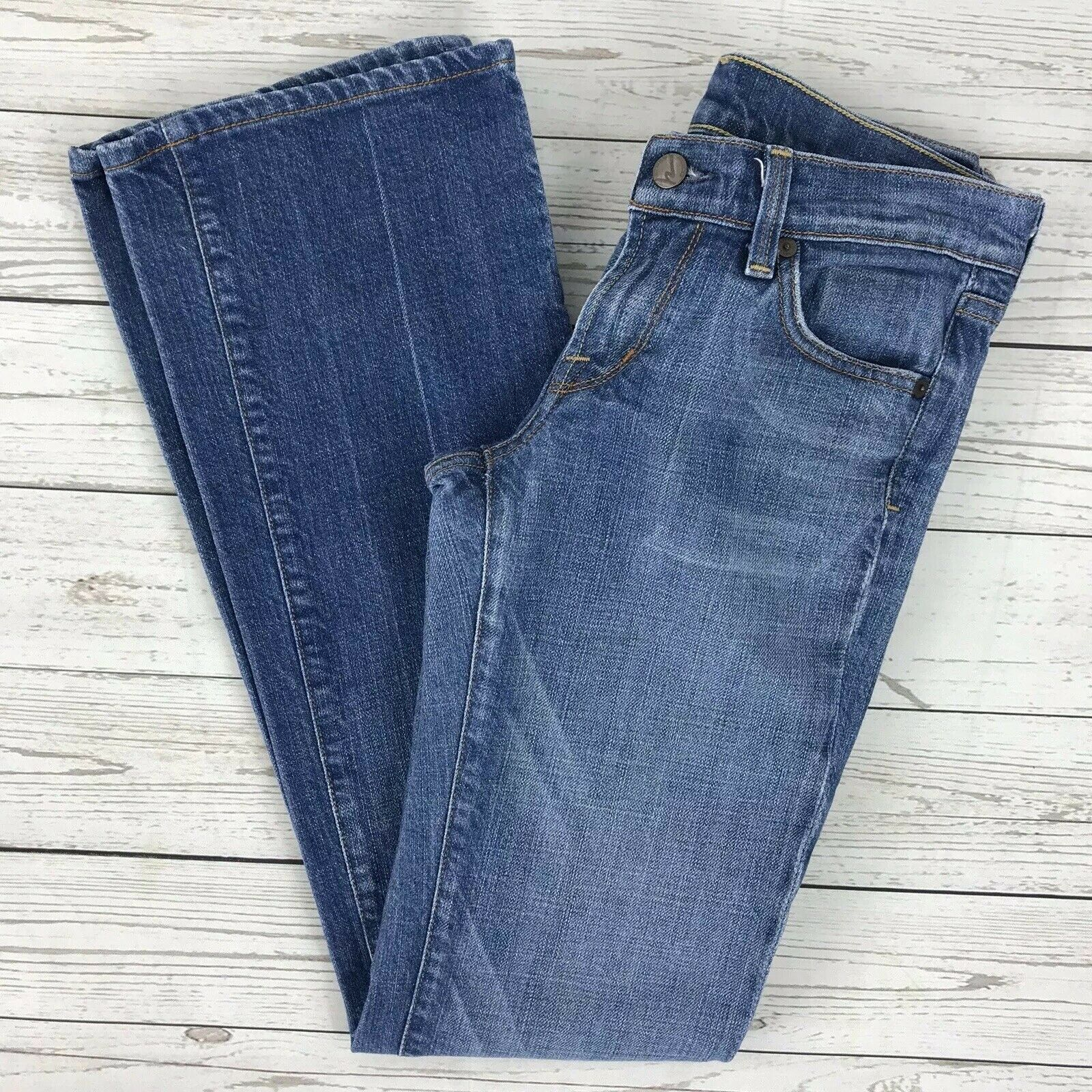 Citizens of Humanity Kelly Stretch Low Waist Bootcut Medium Wash Jeans Womens 26