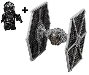 Lego-Star-Wars-75211-Imperial-TIE-Fighter-construire-uniquement-amp-Tie-Pilote-Figurine