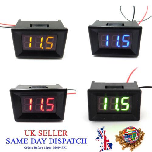 3-30 V DC LED Display Digitale Voltmetro 0.36 Metro Volt di tensione auto Gauge