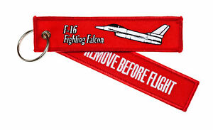 Remove-Before-Flight-F-16-Fighting-Falcon-Schluesselanhaenger-F-16-F16