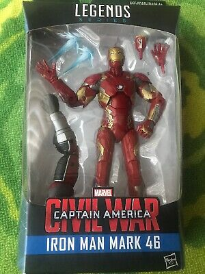 Iron Man Mark 46 NEW Giant Man BAF Marvel Legends Civil War Captain America