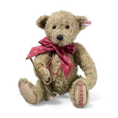 Steiff EAN 006388 Anton Musical Natale Teddy Bear
