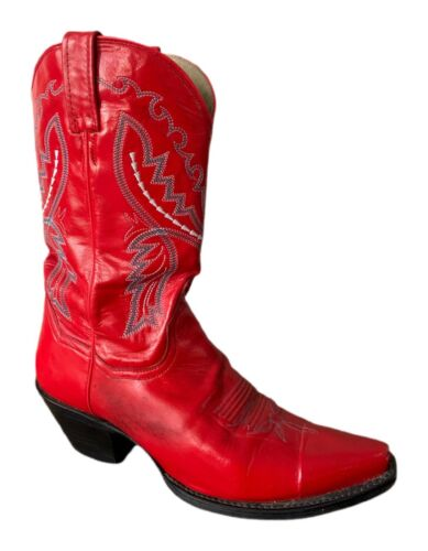 Dan Post Cowboy Boots Red Leather Boots Dan Post C