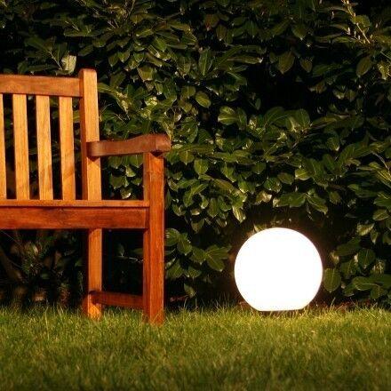 Bala lámpara de jardín lámpara lámpara exterior erdspiess lámpara exterior bala lámpara lámpara
