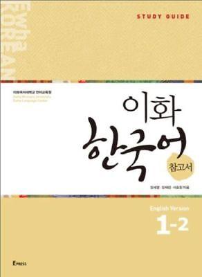 Ewha Korean Study Guide English Ver 1-2 Korean Language Book