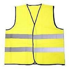 BoyzToyz RY634 Yellow High Visibility Vest Safety Wear H&Loop Fastening One Size