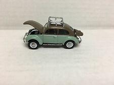 Greenlight * 1949 VW Type 1 Beetle Split Roof Rack *  Brown/Green * LOOSE * Y224