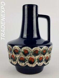 Vintage-60-039-s-70-039-s-ES-KERAMIK-Emons-Sohne-Vase-West-German-Pottery-Fat-Lava-Era