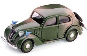 BRUMM-R34-FIAT-508C-1100-BERLINA-HP32-model-road-car-military-with-flags-1-43