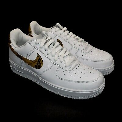 Nike Air Force 1 Low Retro Premium QS 'Ivory Snake' | More