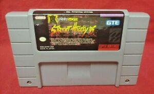 Street-Hockey-039-95-1995-Authentic-Super-Nintendo-SNES-Game-Works-Tested