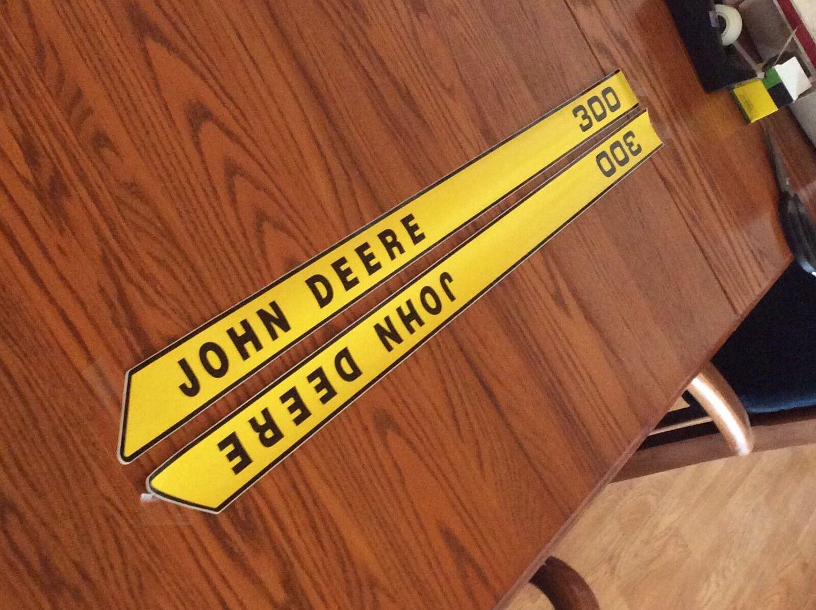 John Deere Nuevo 300 calcomanías de campana