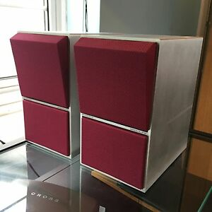 Bang amp Olufsen CX50 Brushed aluminium New Mulberry coloured Acoustic cloth - <span itemprop=availableAtOrFrom>Gloucester, United Kingdom</span> - Bang amp Olufsen CX50 Brushed aluminium New Mulberry coloured Acoustic cloth - Gloucester, United Kingdom