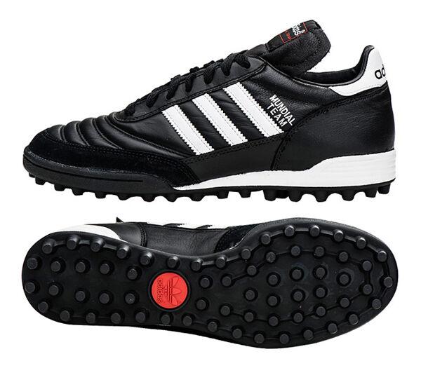 Adidas Mundial Team (019228) Zapatos De Futsal Fútbol botas Botines De Fútbol Negro