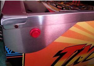 STAR TREK TNG, POPEYE, Pinball Flipper Button Guards PAIR mod