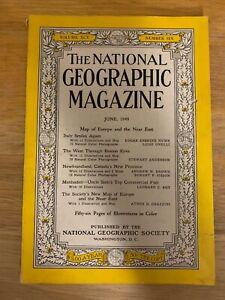 National-Geographic-June-1949-No-Map-Italy-Smiles-Newfoundland-Menhaden