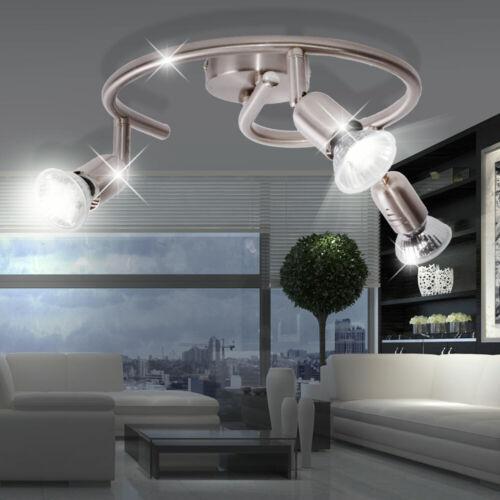 Design Decken Lampe Wohn Schlaf Zimmer Rondell Leuchte Beleuchtung Spot drehbar
