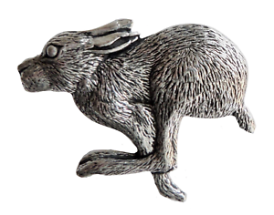 Hare-Pewter-Pin-Badge-Hand-Made-in-Cornwall