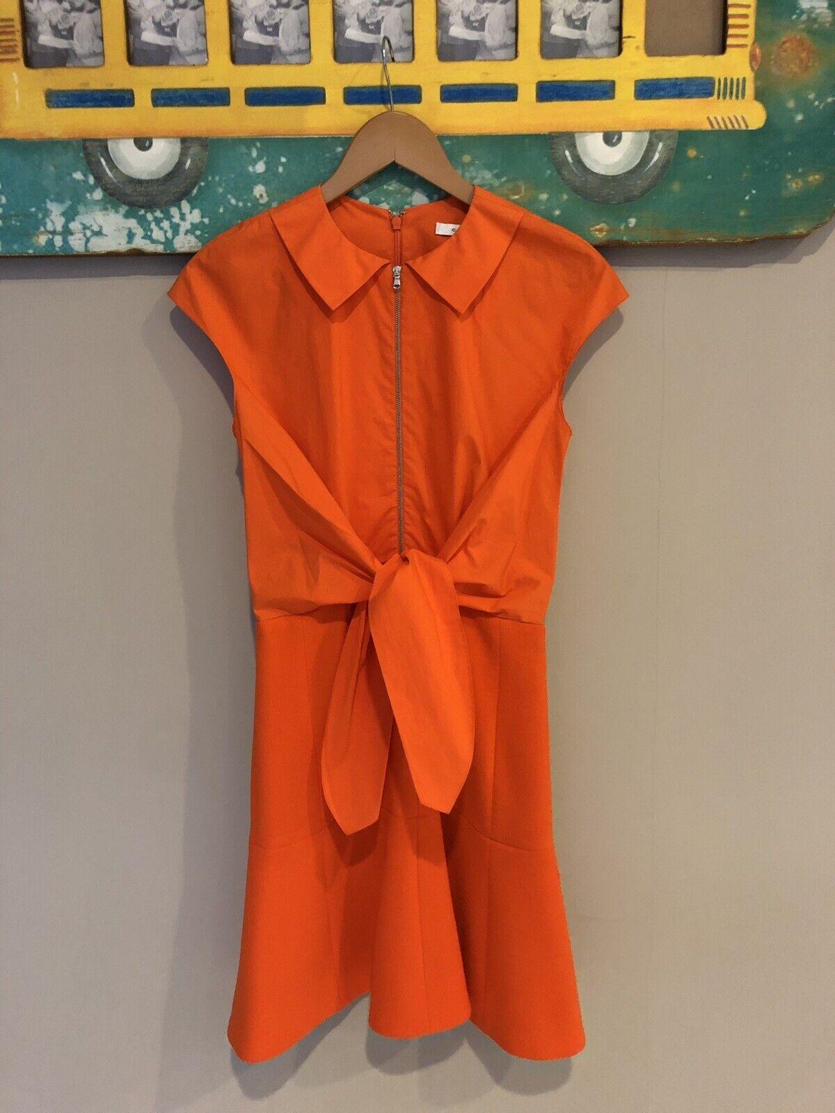 voitureven Orange robe taille 34 UK 6