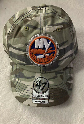 designer fashion separation shoes super popular 47 Clean Up New York Islanders NHL Women's Sparkle Camo Adjustable ...