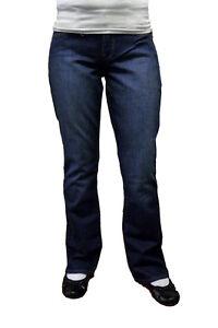 Lucky-Brand-Women-039-s-Sofia-Boot-Jeans-L0I-420-Dark-Wash