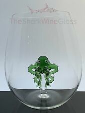 The 3D Stemless Octopus Wine Glass™ Crystal - Featured On Delish.com, HouseBeaut