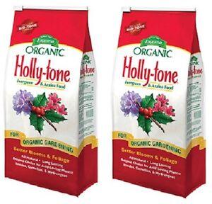 Details about (2) ea Espoma HT8 8 lb Holly Tone Organic Evergreen Azalea  Acid Food Fertilizer