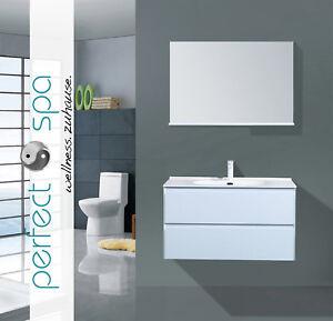 Details zu Badmöbel-Set Buffalo Waschtisch Spiegel Badezimmer Waschbecken  Badschrank