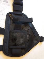 Hands Radio Chest Harness for Pro &uhf Radios Black RCH 101 | eBay