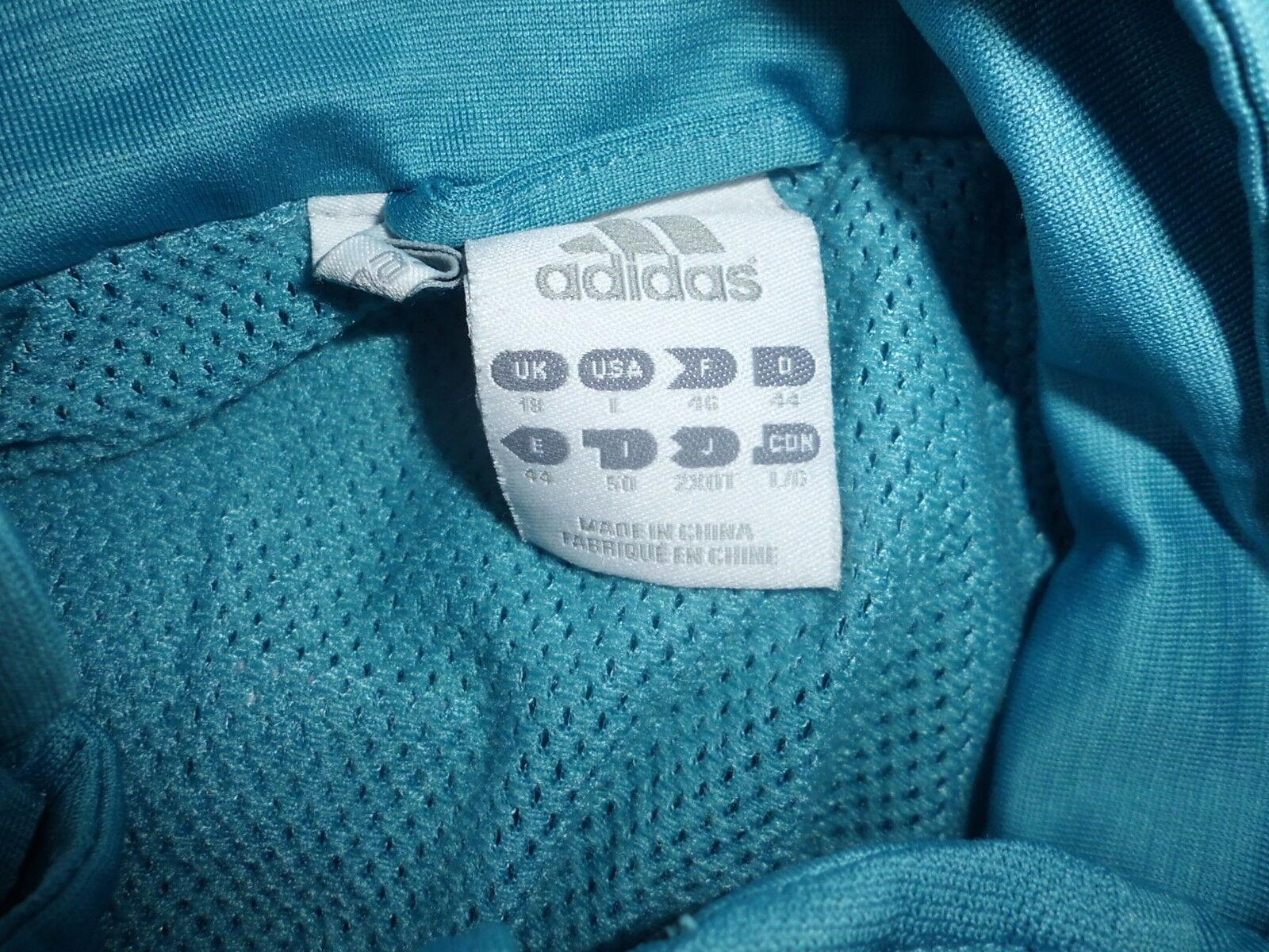 Veste de survêtement ADIDAS  à Taille 46 Bleu  à   -68%* b37c51
