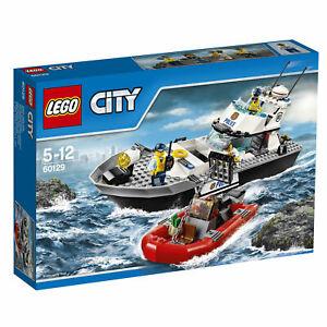 LEGO-City-60129-Polizei-Patrouillen-Boot-NEU-OVP
