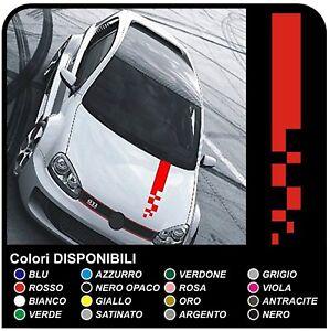 GOLF-GTI-Strisce-Adesive-RACING-Bonnet-Stripes-universali-fasce-cofano-GOLF-GTI