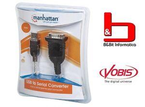 Manhattan-cavo-convertitore-adattatore-da-USB-a-Seriale-9Pin-maschio-RS232-45cm
