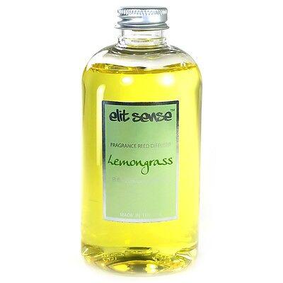 Lemongrass Reed Diffuser Refill Oil, 8 oz Made in USA