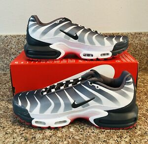 Details about Nike Air Max Plus TN Tuned Before The Bite White Red After AQ0237 100 Men 10