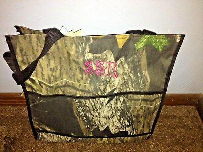PERSONALIZED 3 Piece Diaper Bag Set with Name Baby Boy Camo Personalized Diaper Bag and Changing Pad Embroidered Zipper Pouch