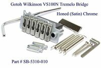 Gotoh Wilkinson Vs100n 2-point Non-locking Tremolo Bridge - Honed Chrome
