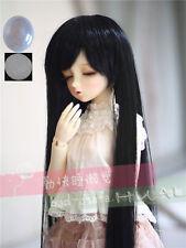 "8-9/"" 1//3 BJD Red Black Mix Long Wig LUTS Doll SD DZ DOD MSD Dollfie Hair"