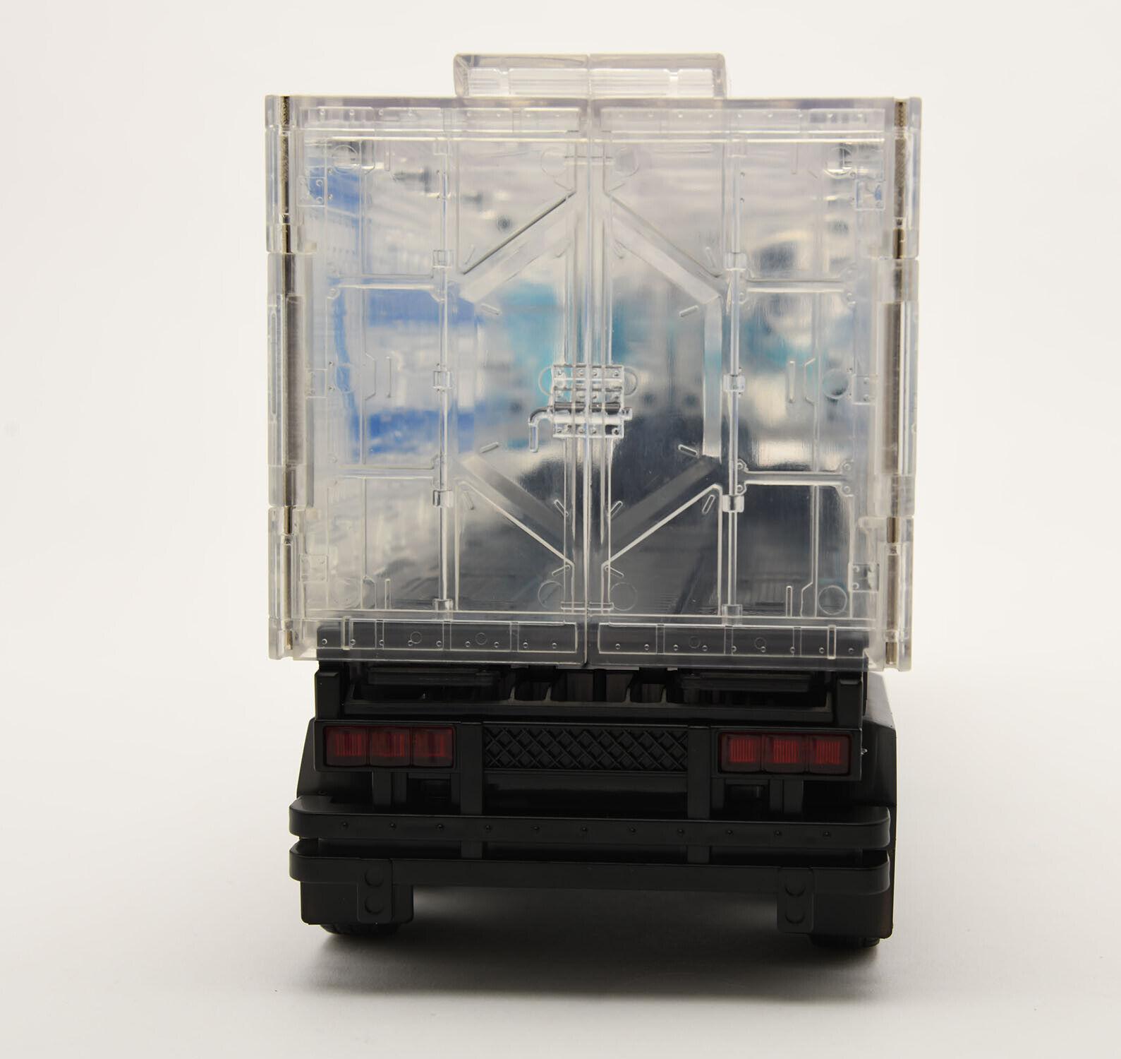 Transformers Optimus Prime MPP10 WEIJIANG Transparent Trailer Trailer Trailer OP Hobbies Toys d94dba