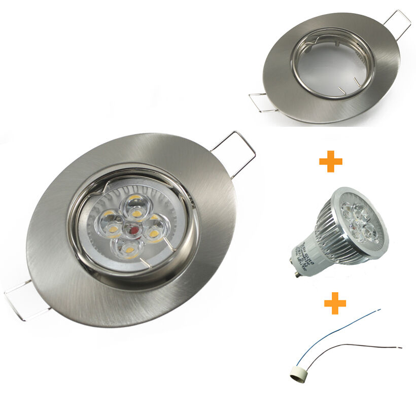 1-12er Set Dimmerabile Power LED Montaggio Faretto Da Incasso Spot Downlight Set OVALE 230v