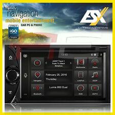 """ESX VN620D 2-DIN Navigationsgerät Autoradio iGo 6.2"""" Einbau-Navi Doppel-DIN"""