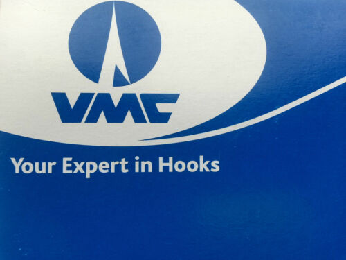 VMC #4 O/'Shaugnessy 4X-Strong Treble Hooks 1000 pack Black Nickel 9626